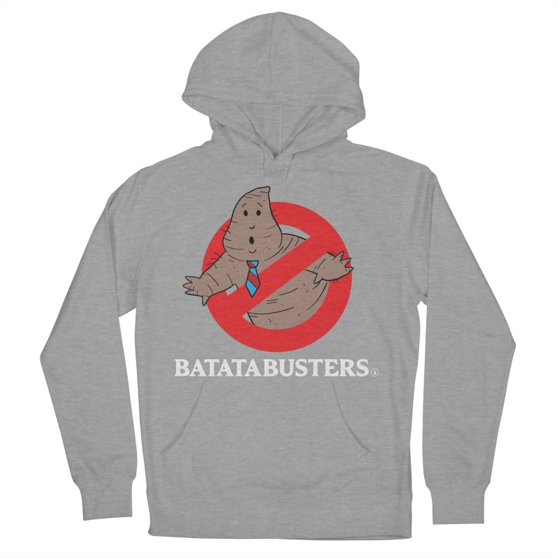 BATATA BUSTERS Men's French Terry Pullover Hoody by Tripleta Studio Shop