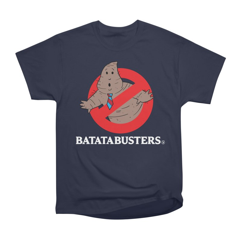 BATATA BUSTERS Women's Heavyweight Unisex T-Shirt by Tripleta Gourmet Clothing