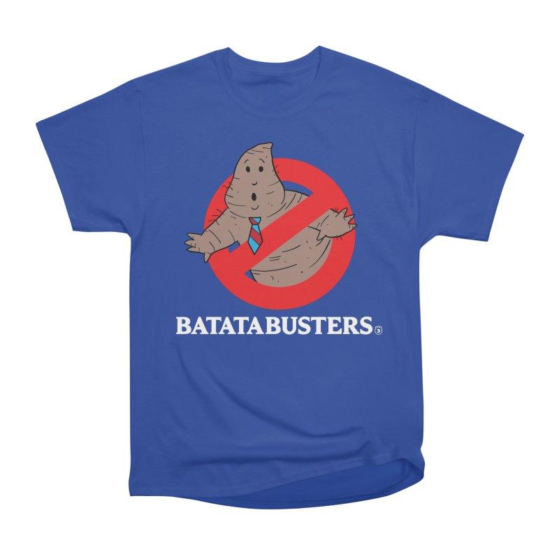 BATATA BUSTERS Men's Classic T-Shirt by Tripleta Gourmet Clothing