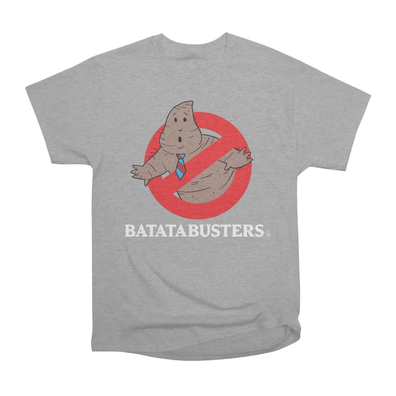 BATATA BUSTERS Men's Heavyweight T-Shirt by Tripleta Gourmet Clothing