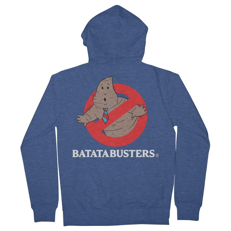 BATATA BUSTERS Women's French Terry Zip-Up Hoody by Tripleta Gourmet Clothing