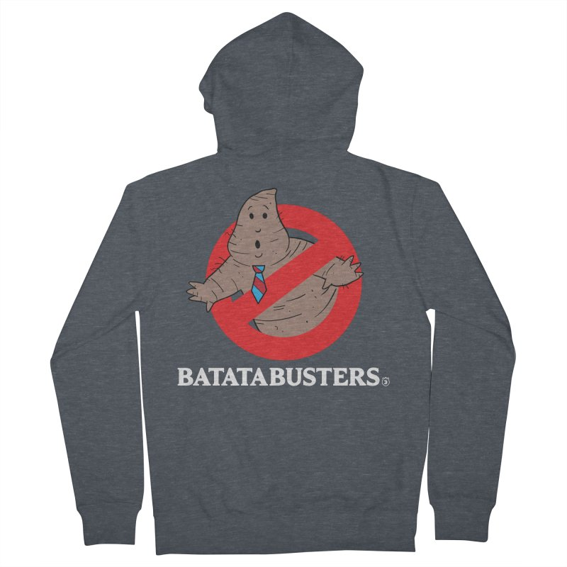 BATATA BUSTERS Women's French Terry Zip-Up Hoody by Tripleta Studio Shop