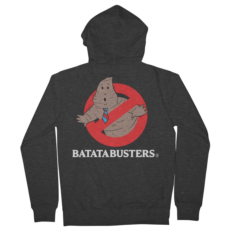 BATATA BUSTERS Men's French Terry Zip-Up Hoody by Tripleta Gourmet Clothing
