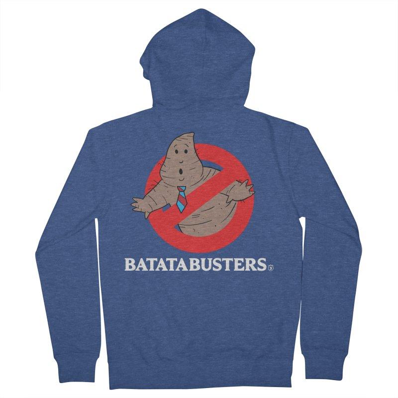 BATATA BUSTERS Men's French Terry Zip-Up Hoody by Tripleta Studio Shop
