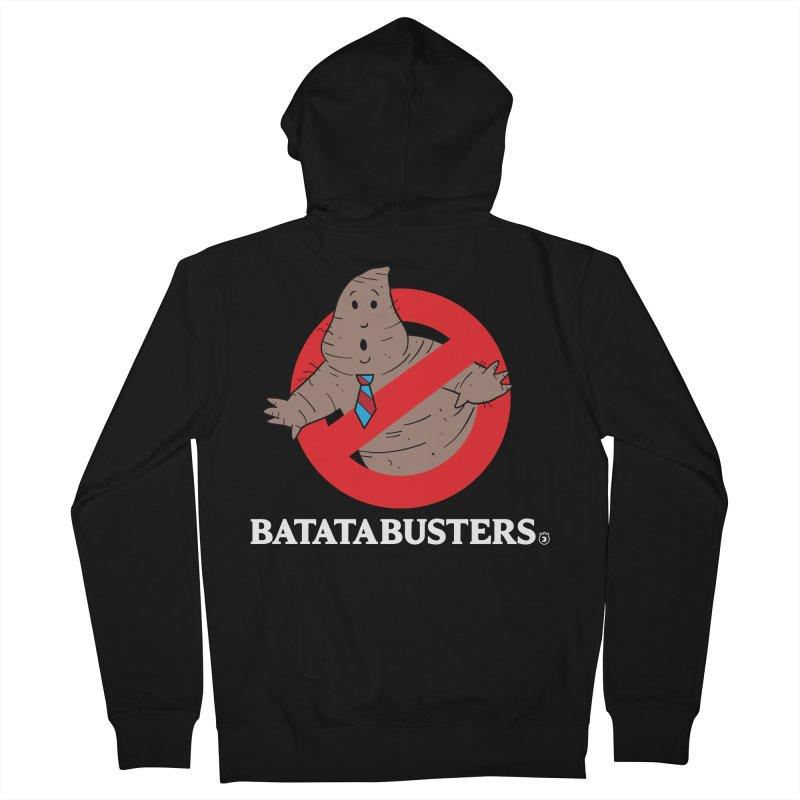 BATATA BUSTERS Men's Zip-Up Hoody by Tripleta Gourmet Clothing