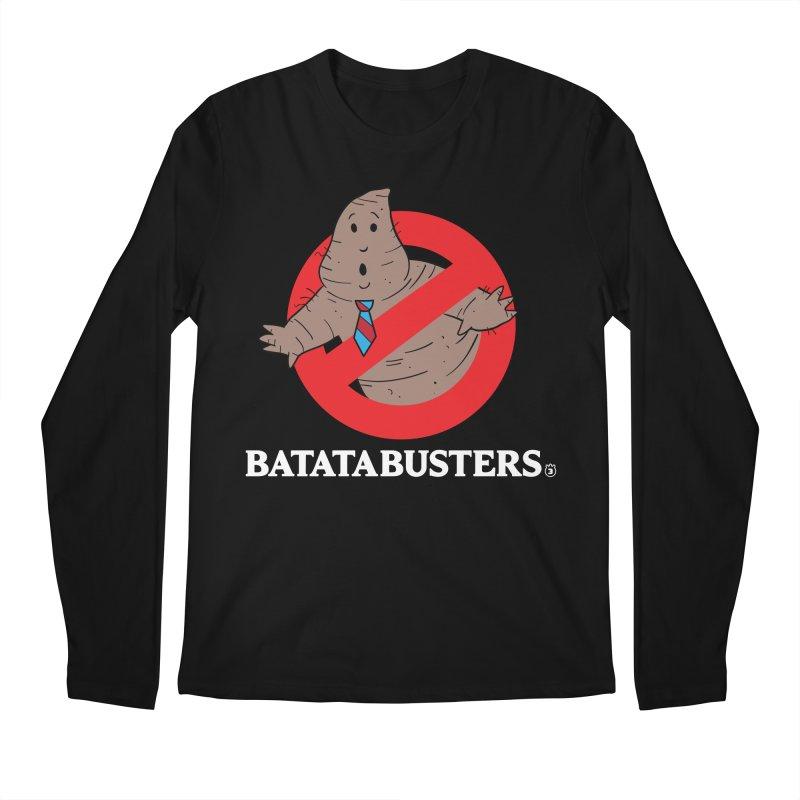 BATATA BUSTERS Men's Longsleeve T-Shirt by Tripleta Gourmet Clothing