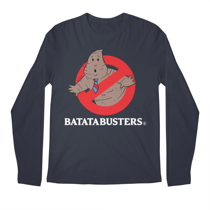 BATATA BUSTERS Men's Regular Longsleeve T-Shirt by Tripleta Gourmet Clothing