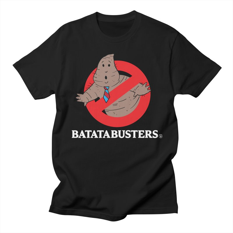 BATATA BUSTERS in Men's T-shirt Black by Tripleta Gourmet Clothing
