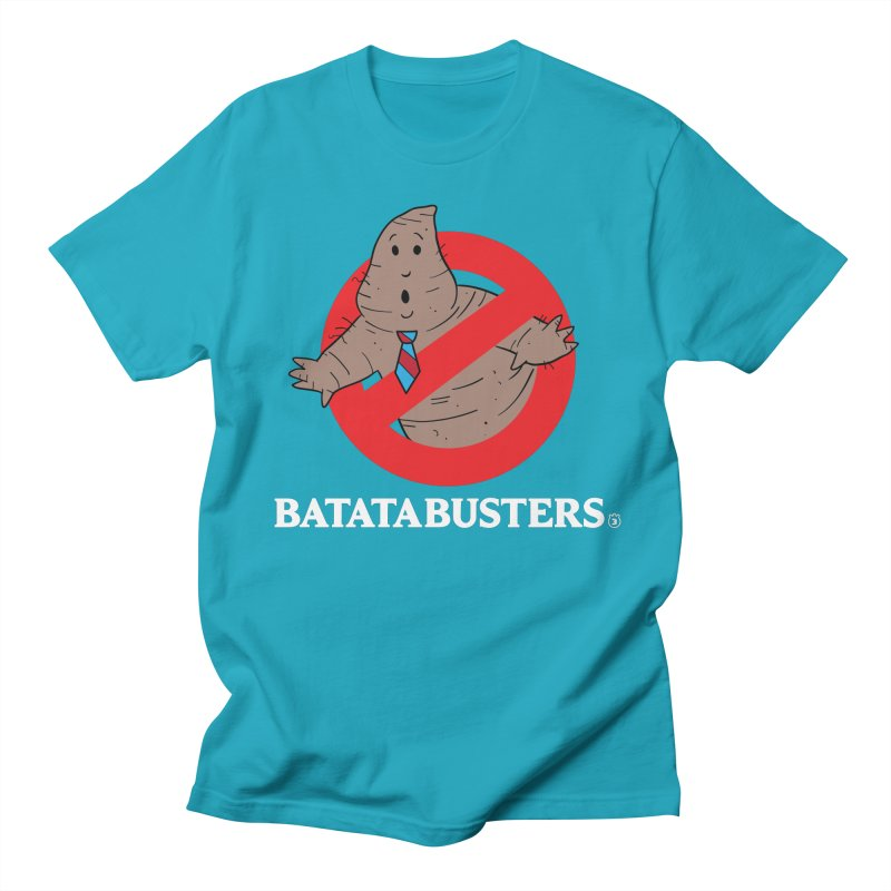 BATATA BUSTERS Women's Regular Unisex T-Shirt by Tripleta Gourmet Clothing