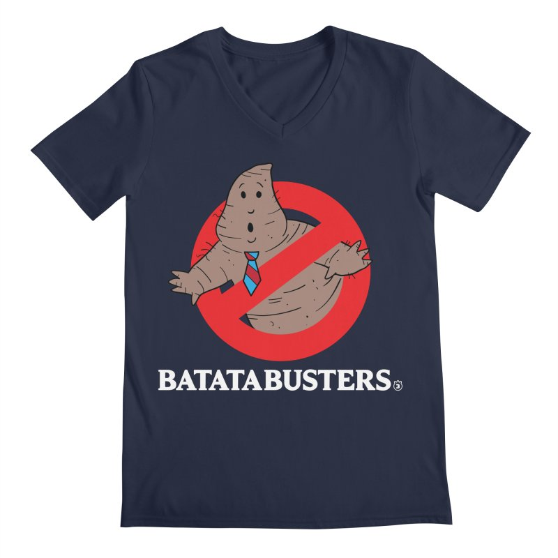 BATATA BUSTERS Men's V-Neck by Tripleta Gourmet Clothing