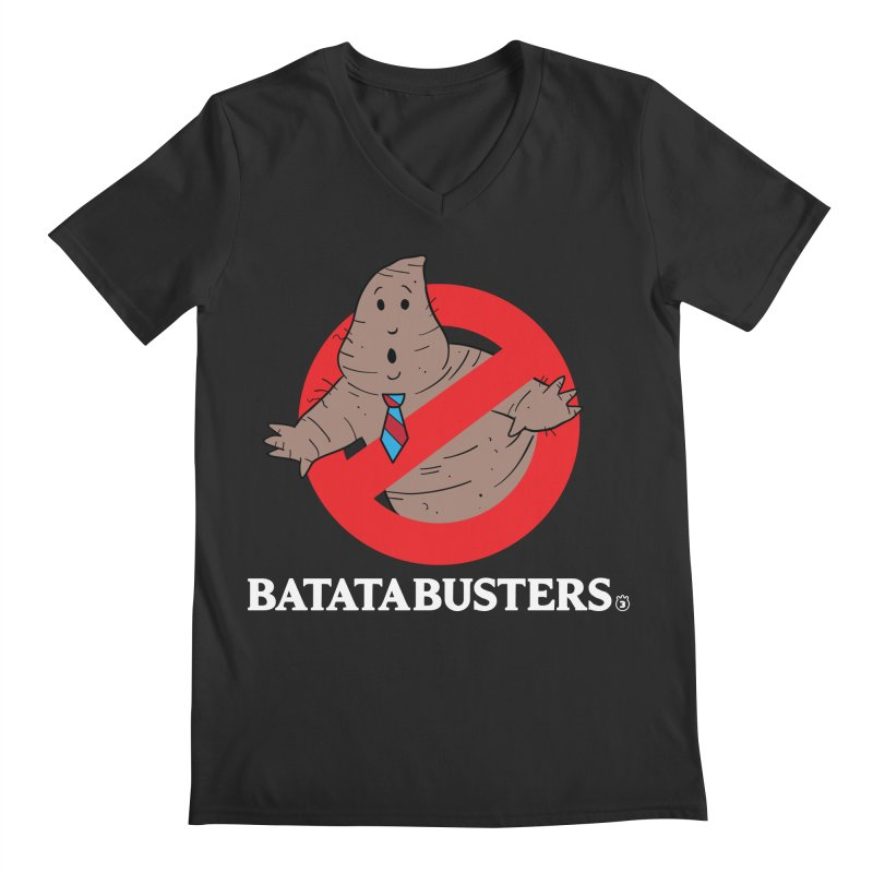 BATATA BUSTERS Men's V-Neck by Tripleta Gourmet Clothing