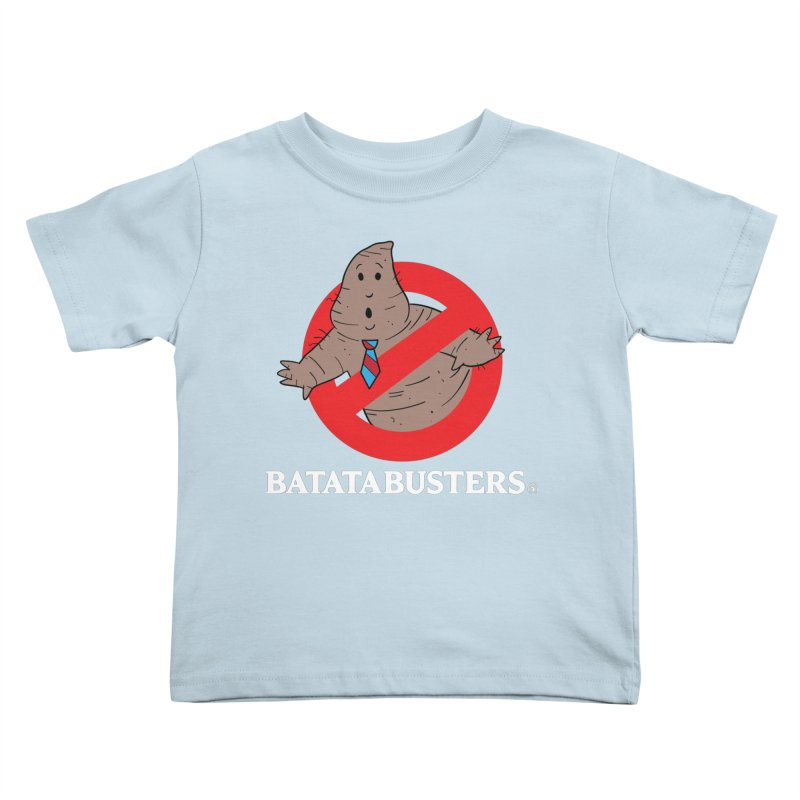 BATATA BUSTERS Kids Toddler T-Shirt by Tripleta Gourmet Clothing