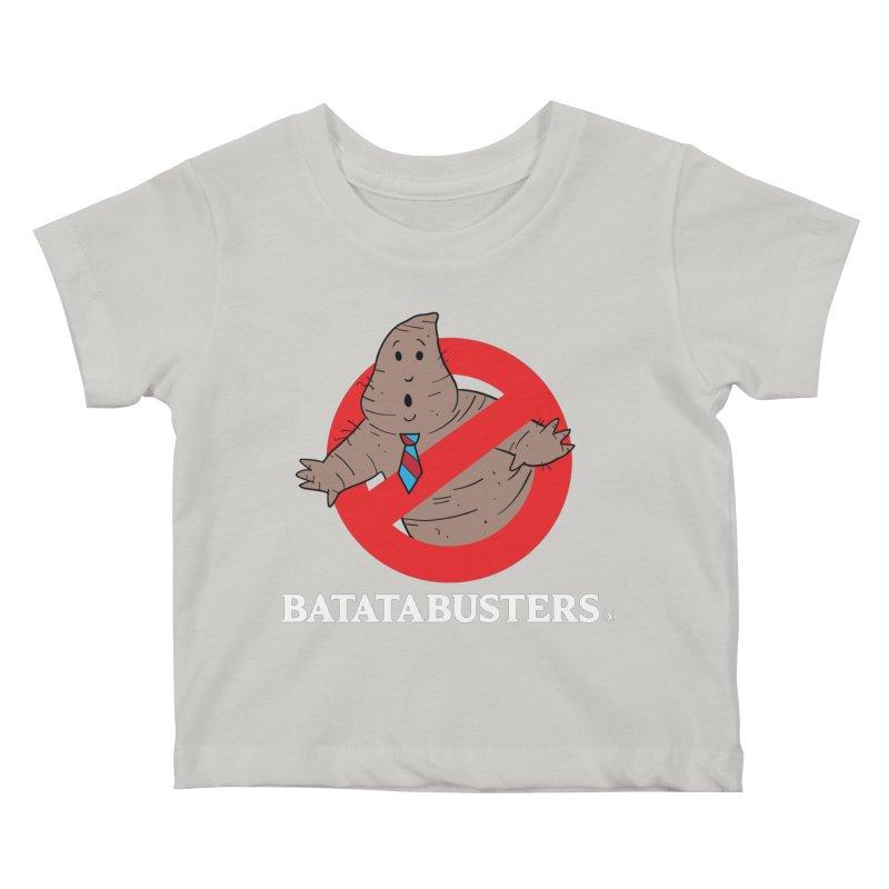 BATATA BUSTERS Kids Baby T-Shirt by Tripleta Gourmet Clothing