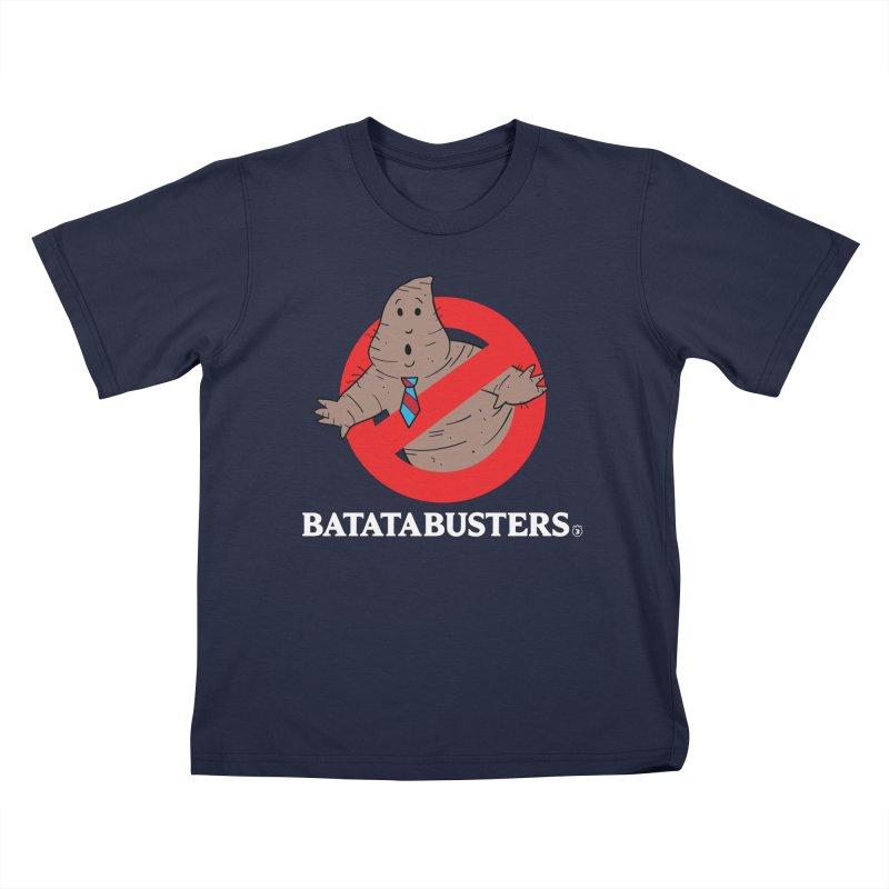 BATATA BUSTERS Kids T-Shirt by Tripleta Gourmet Clothing