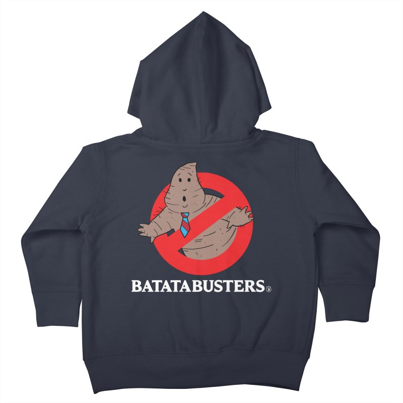 BATATA BUSTERS Kids Toddler Zip-Up Hoody by Tripleta Gourmet Clothing