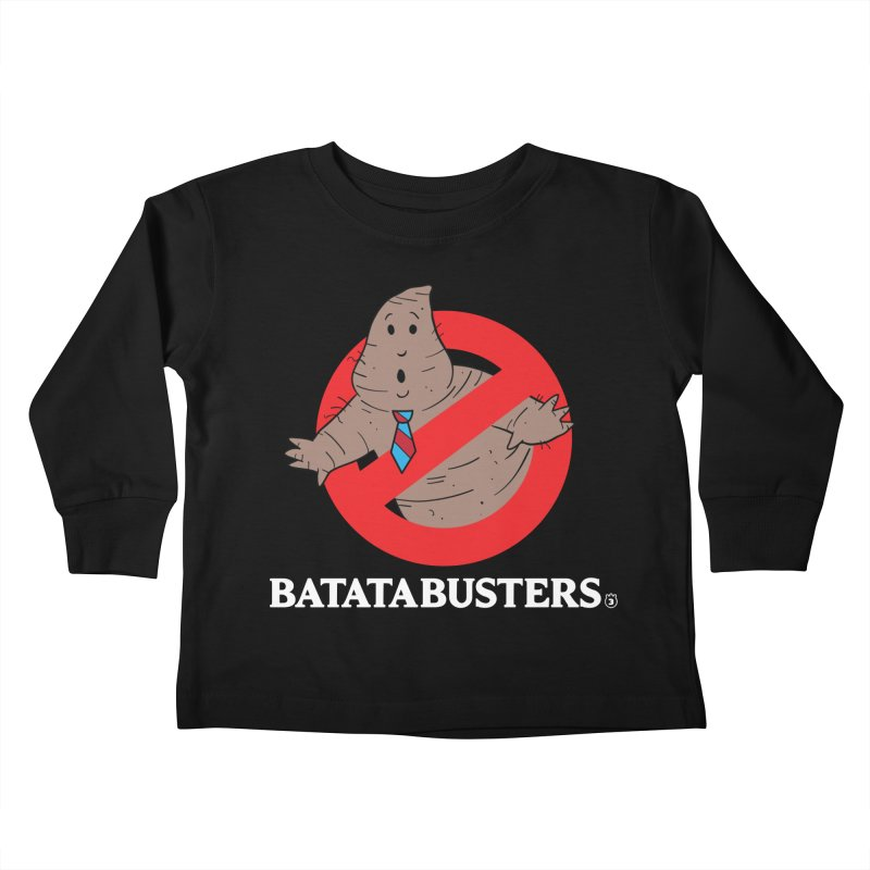 BATATA BUSTERS Kids Toddler Longsleeve T-Shirt by Tripleta Gourmet Clothing