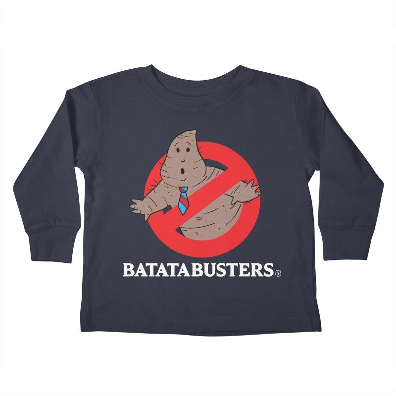BATATA BUSTERS Kids Toddler Longsleeve T-Shirt by Tripleta Gourmet Clothing