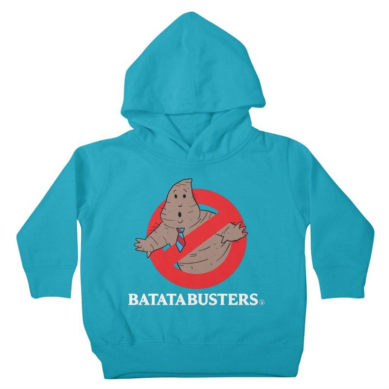 BATATA BUSTERS Kids Toddler Pullover Hoody by Tripleta Gourmet Clothing