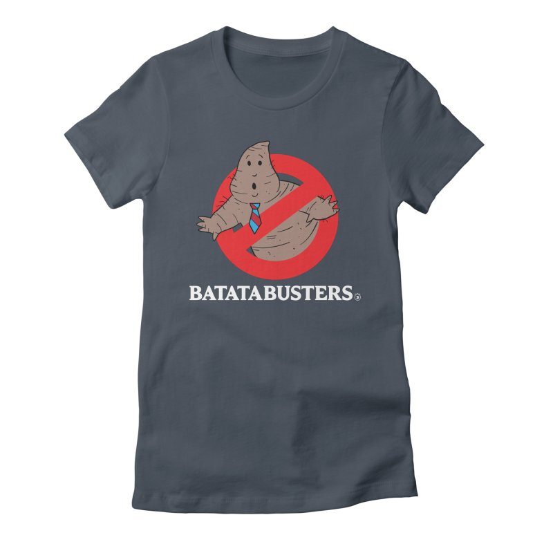 BATATA BUSTERS Women's Fitted T-Shirt by Tripleta Gourmet Clothing