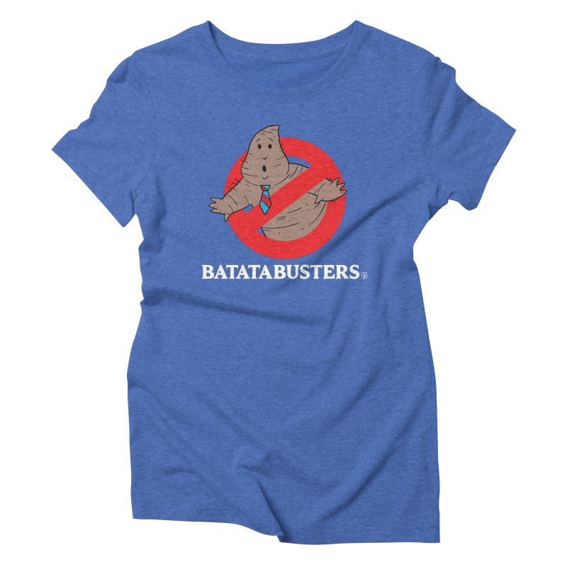 BATATA BUSTERS Women's Triblend T-Shirt by Tripleta Gourmet Clothing