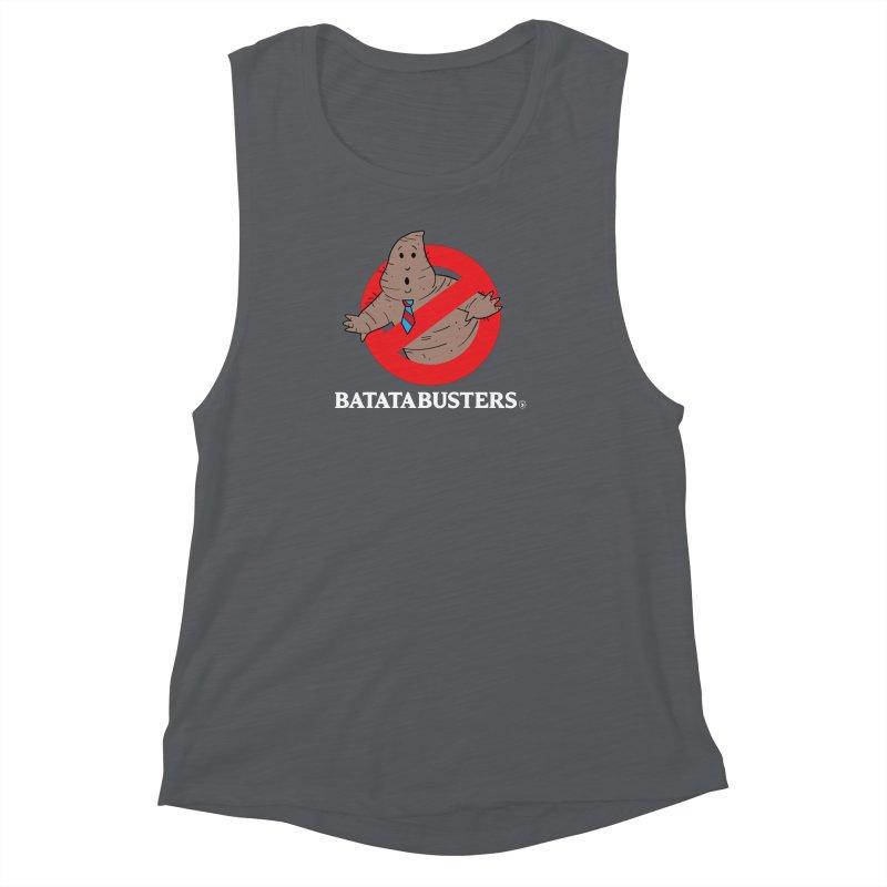 BATATA BUSTERS Women's Muscle Tank by Tripleta Gourmet Clothing