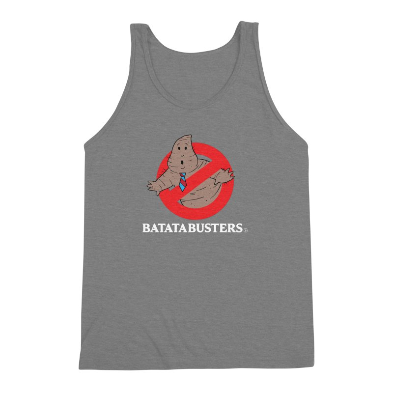 BATATA BUSTERS Men's Triblend Tank by Tripleta Gourmet Clothing