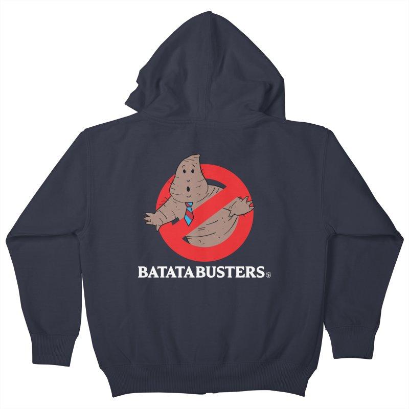 BATATA BUSTERS Kids Zip-Up Hoody by Tripleta Gourmet Clothing