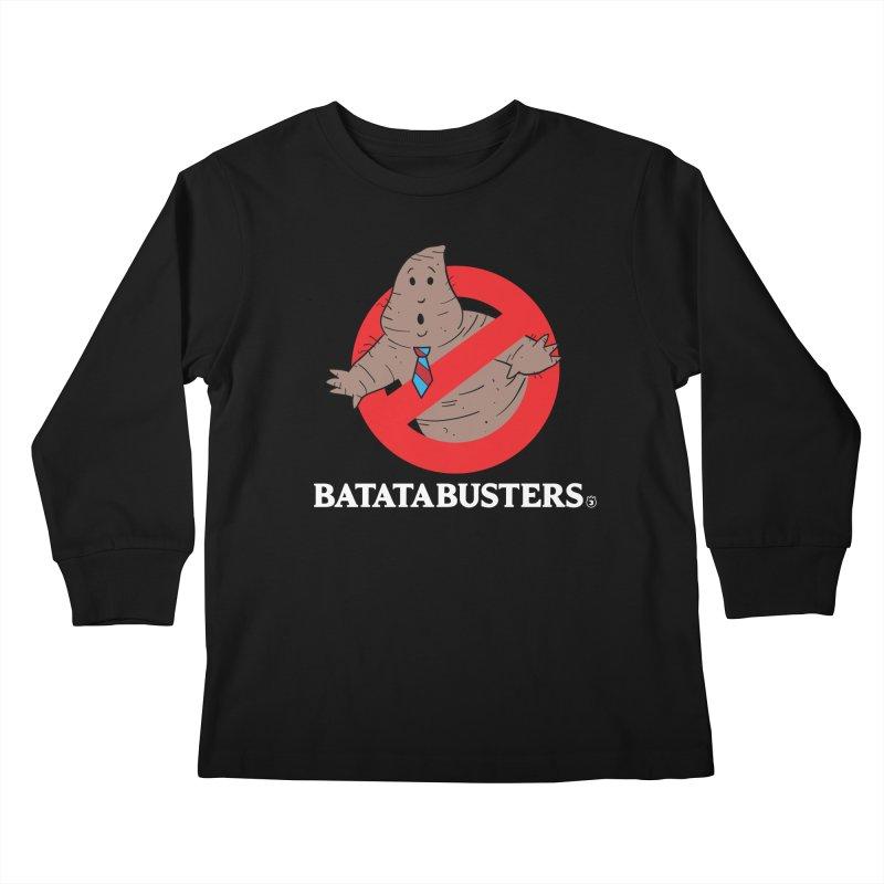 BATATA BUSTERS Kids Longsleeve T-Shirt by Tripleta Gourmet Clothing