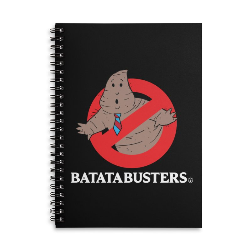 BATATA BUSTERS Accessories Lined Spiral Notebook by Tripleta Studio Shop