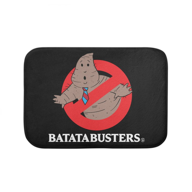 BATATA BUSTERS Home Bath Mat by Tripleta Studio Shop