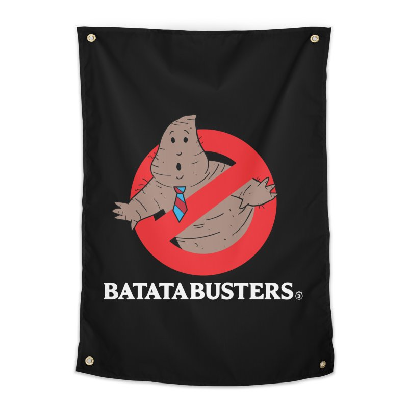 BATATA BUSTERS Home Tapestry by Tripleta Gourmet Clothing