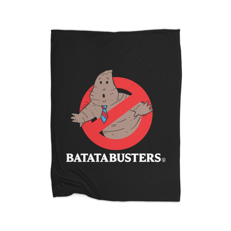 BATATA BUSTERS Home Fleece Blanket Blanket by Tripleta Studio Shop