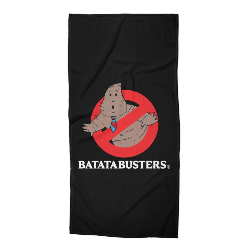 BATATA BUSTERS Accessories Beach Towel by Tripleta Gourmet Clothing