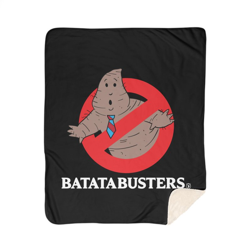 BATATA BUSTERS Home Blanket by Tripleta Studio Shop