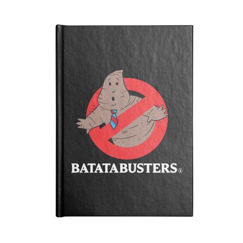 BATATA BUSTERS Accessories Lined Journal Notebook by Tripleta Studio Shop