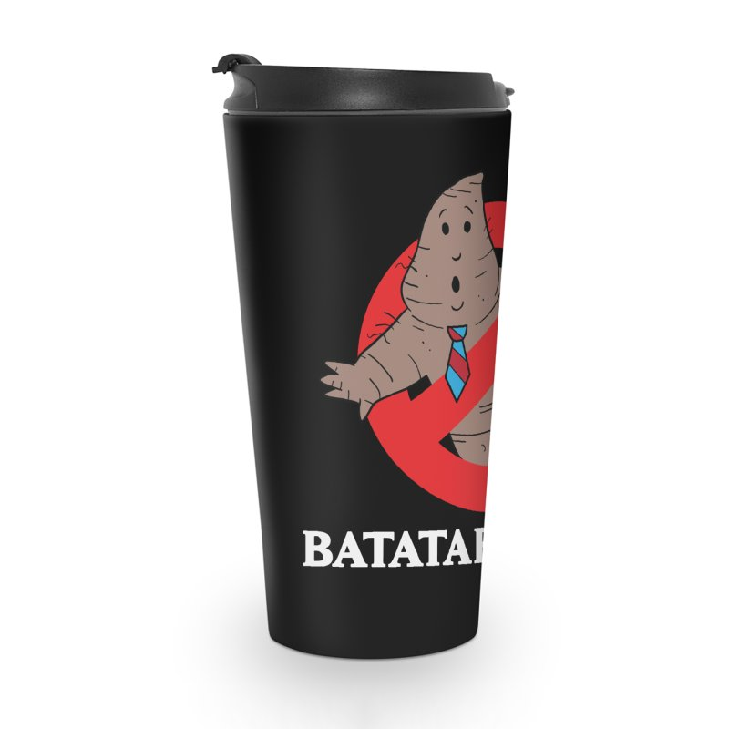 BATATA BUSTERS Accessories Travel Mug by Tripleta Studio Shop