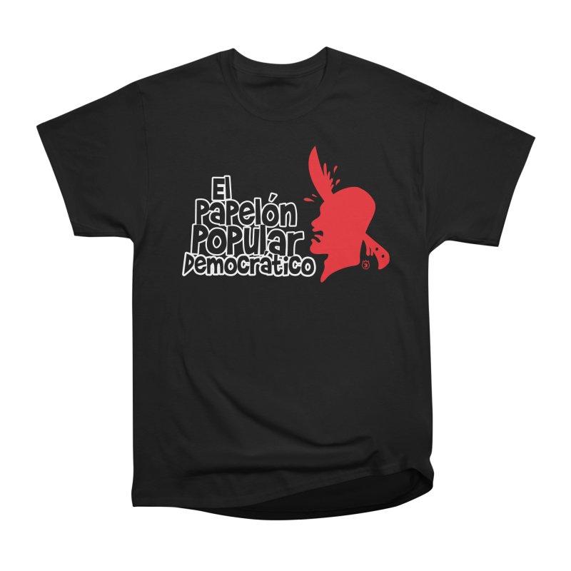 PAPELON POPULAR Women's Classic Unisex T-Shirt by Tripleta Gourmet Clothing