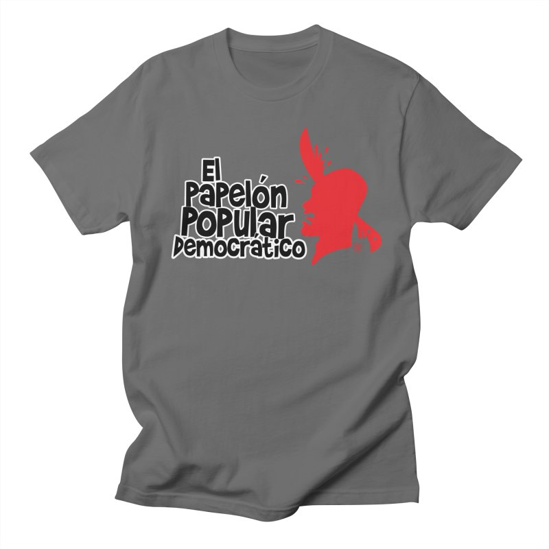 PAPELON POPULAR Men's T-shirt by Tripleta Gourmet Clothing
