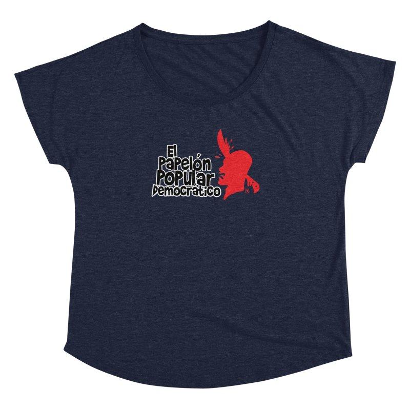 PAPELON POPULAR Women's Dolman by Tripleta Gourmet Clothing