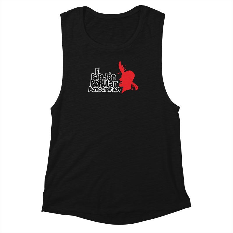 PAPELON POPULAR Women's Muscle Tank by Tripleta Studio Shop
