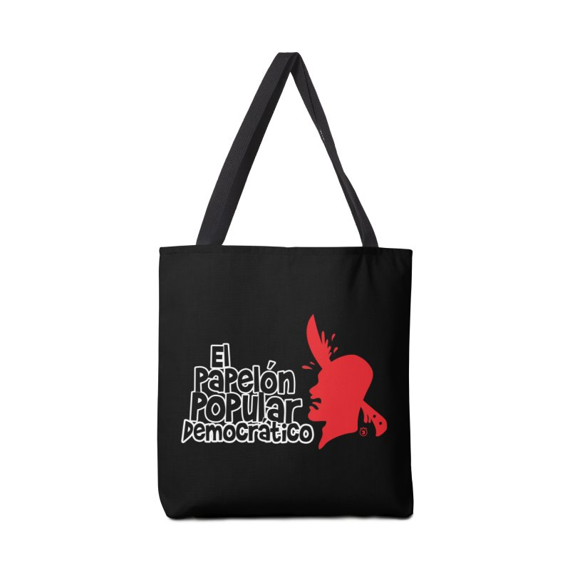 PAPELON POPULAR Accessories Tote Bag Bag by Tripleta Studio Shop
