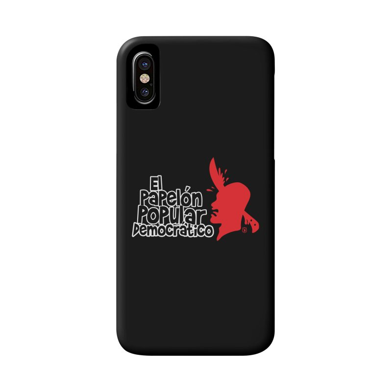 PAPELON POPULAR Accessories Phone Case by Tripleta Gourmet Clothing