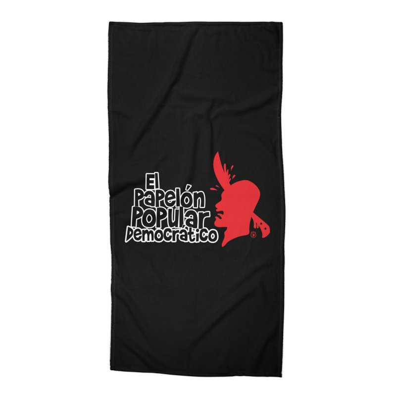 PAPELON POPULAR Accessories Beach Towel by Tripleta Gourmet Clothing