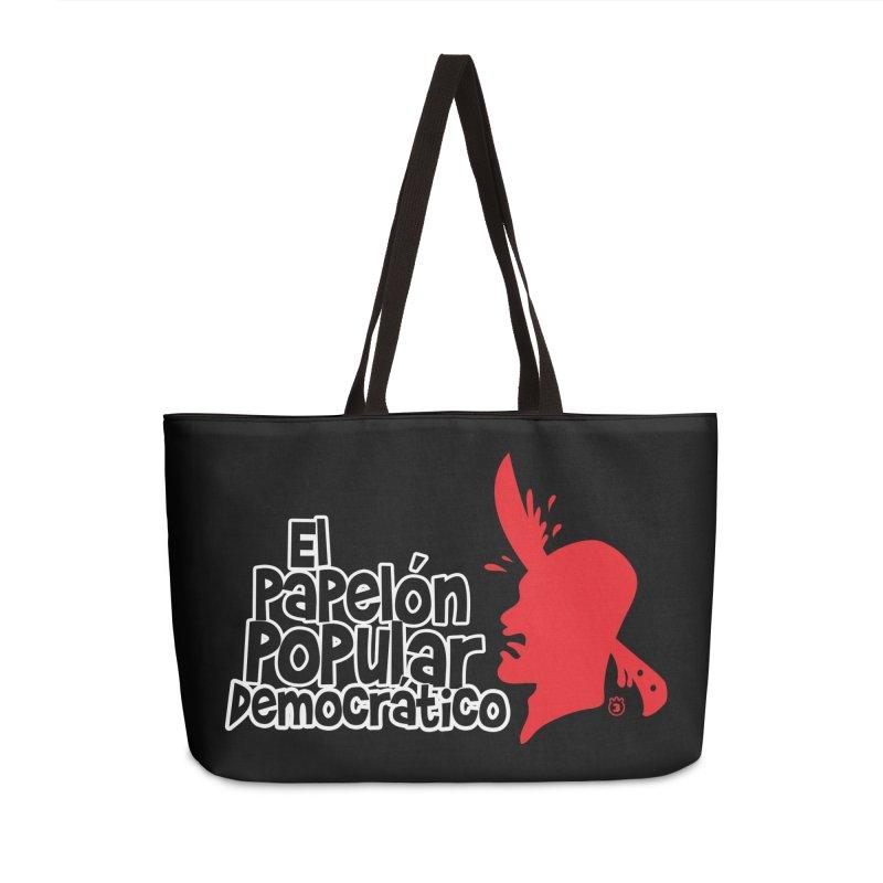 PAPELON POPULAR Accessories Weekender Bag Bag by Tripleta Studio Shop