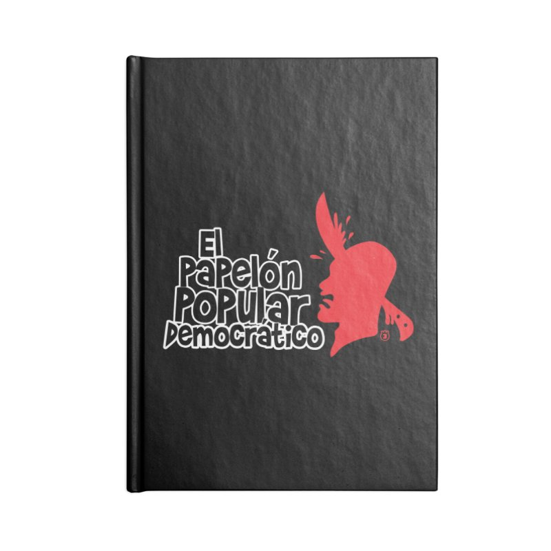 PAPELON POPULAR Accessories Notebook by Tripleta Gourmet Clothing