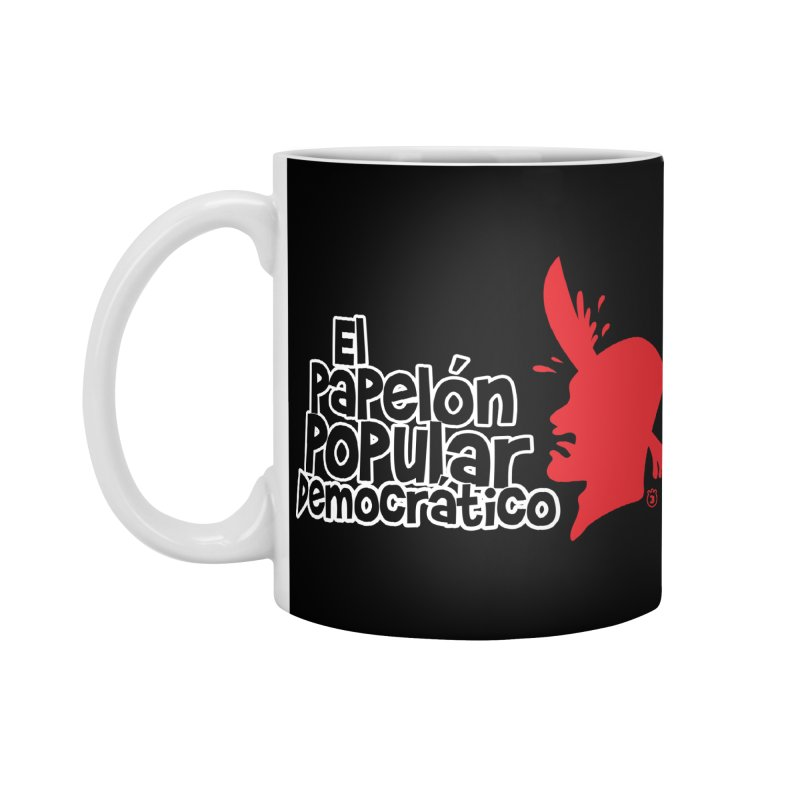 PAPELON POPULAR Accessories Standard Mug by Tripleta Studio Shop