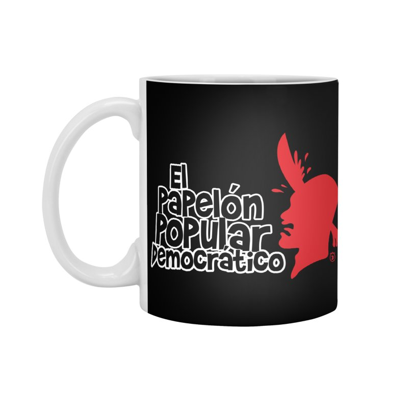 PAPELON POPULAR Accessories Mug by Tripleta Gourmet Clothing