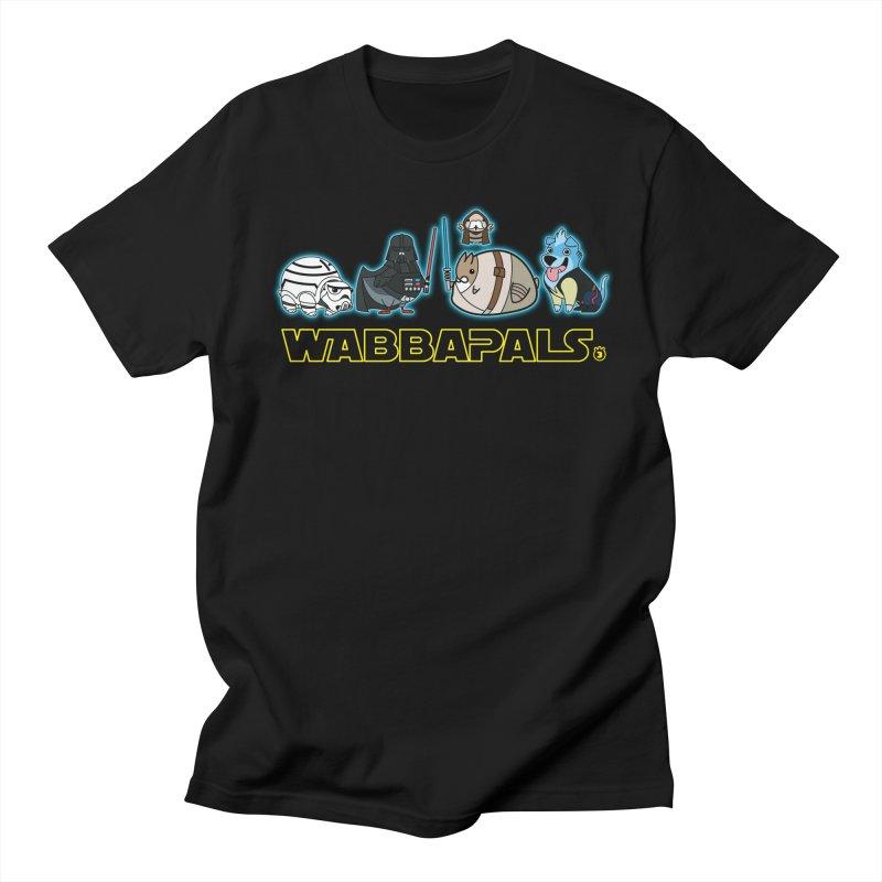 STAR WABBA WARS in Men's Regular T-Shirt Black by Tripleta Studio Shop