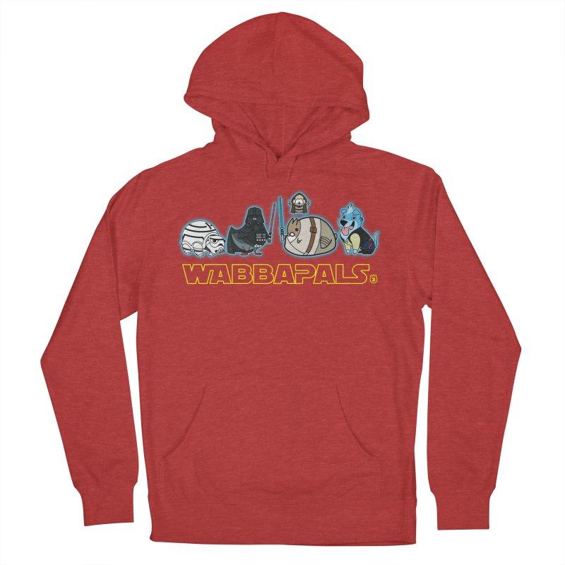 STAR WABBA WARS Men's Pullover Hoody by Tripleta Gourmet Clothing
