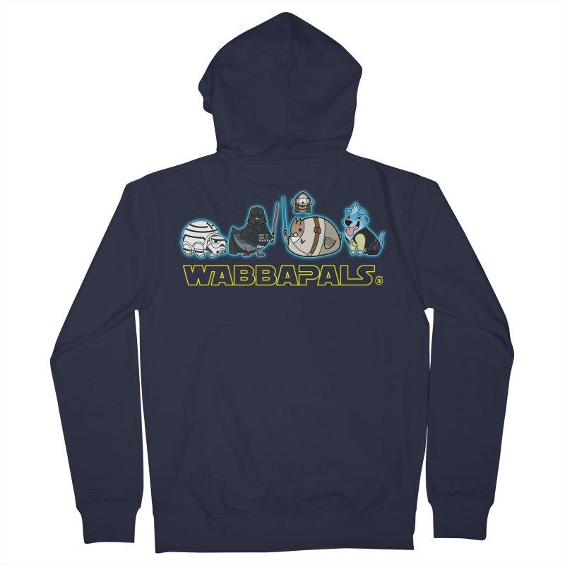 STAR WABBA WARS Women's Zip-Up Hoody by Tripleta Gourmet Clothing